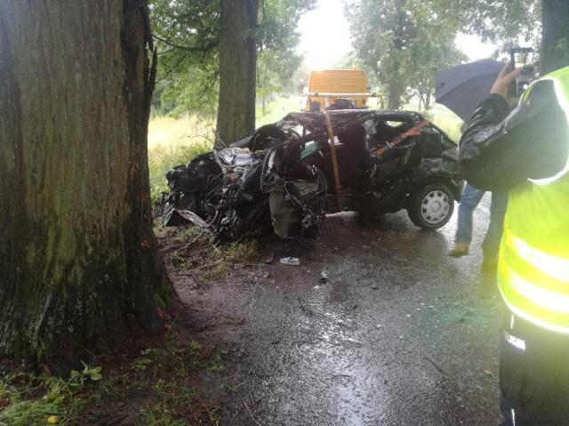 Miejsce wypadku w gm. Barciany #2