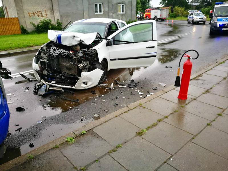 Miejsce wypadku w pow. iławskim #1