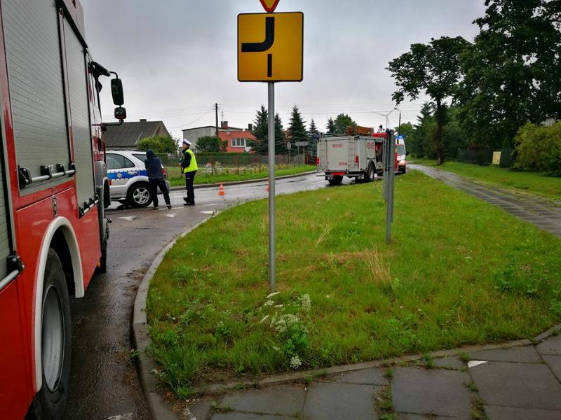 Miejsce wypadku w pow. iławskim #2