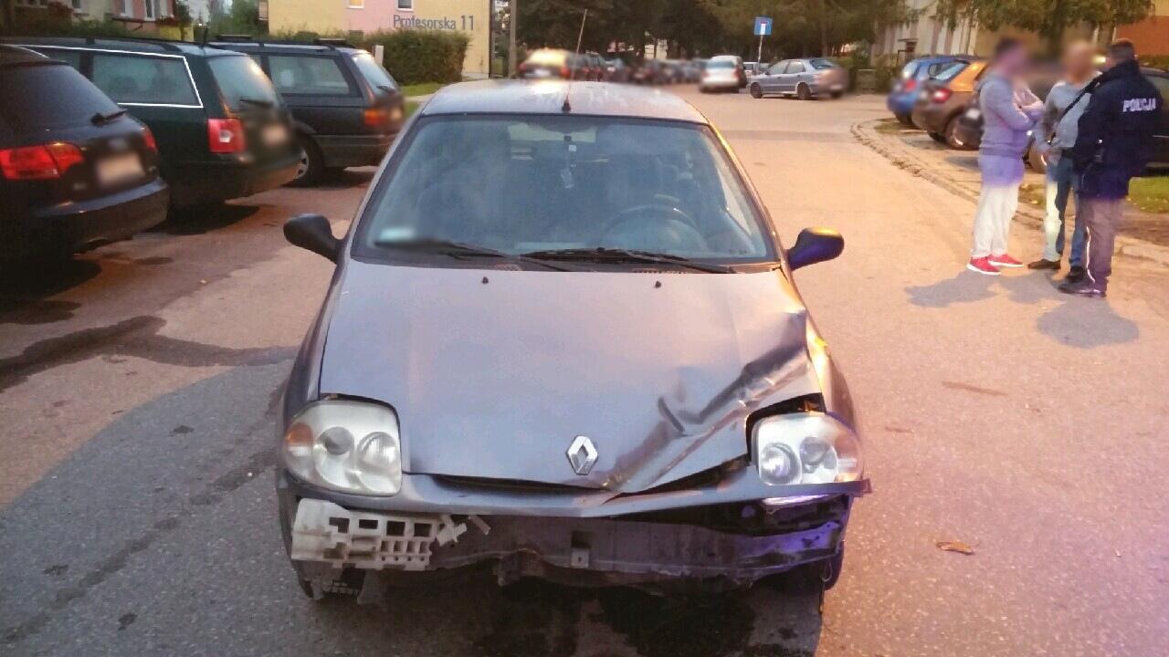 Auto zatrzymane w Olsztynie #2