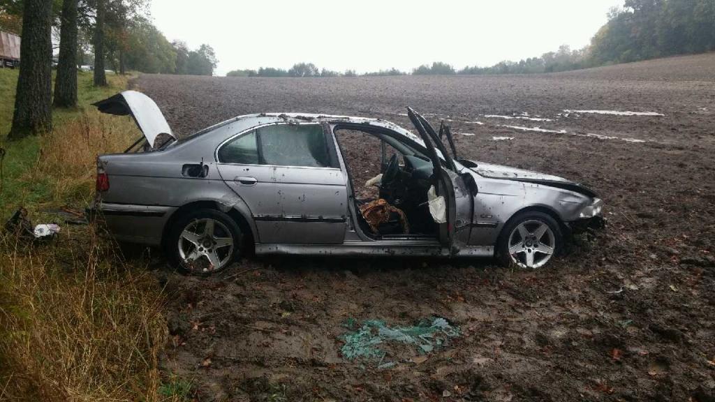 BMW biorące udział w zdarzeniu drogowym #2