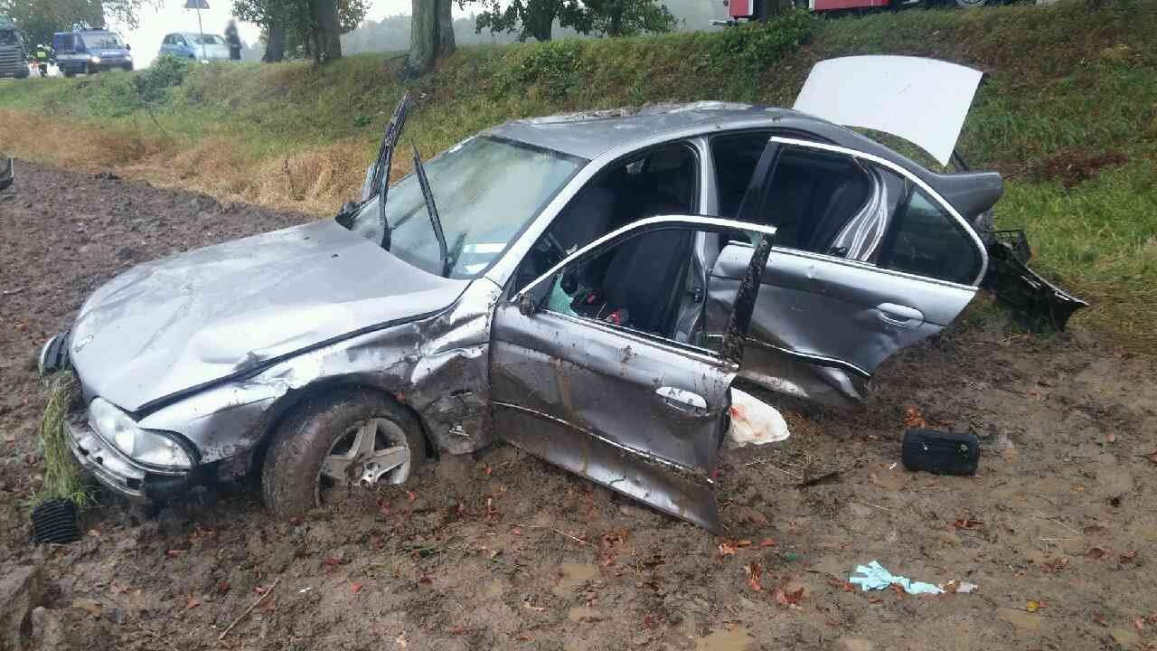 BMW biorące udział w zdarzeniu drogowym #4